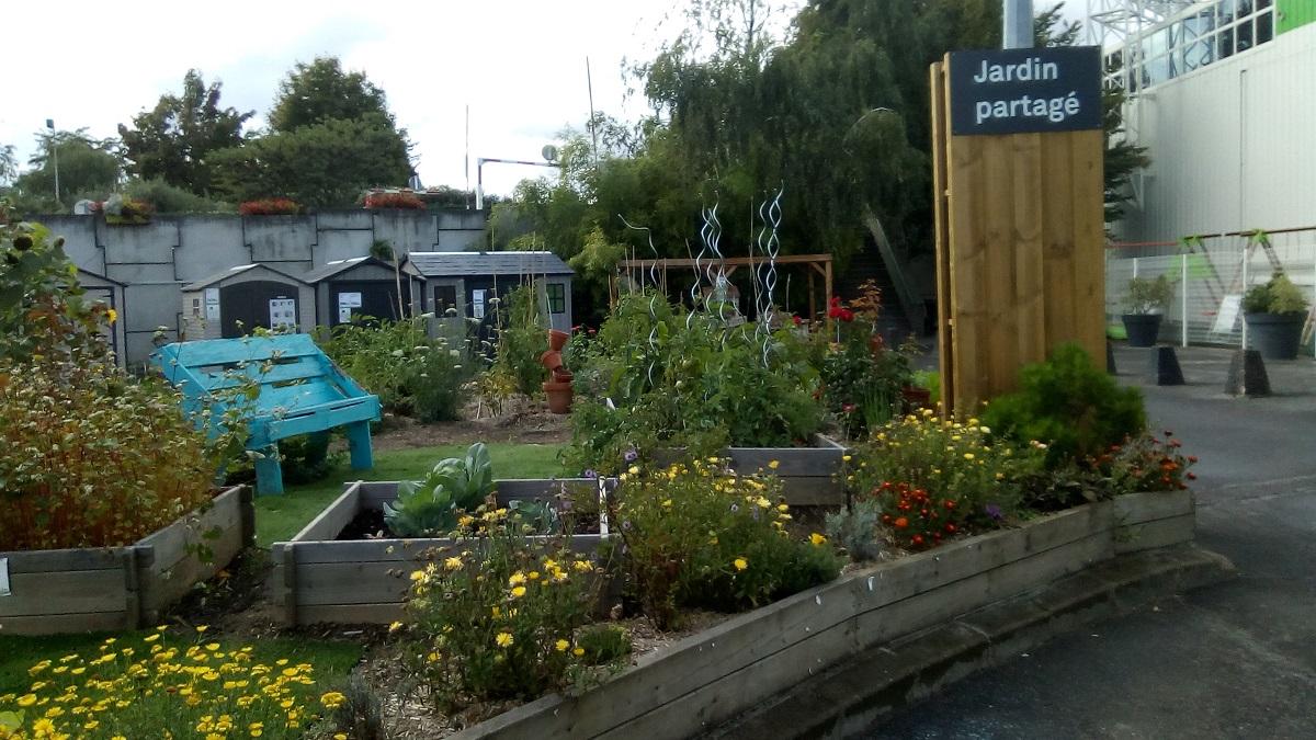 Début de saison au jardin partagé Leroy Merlin