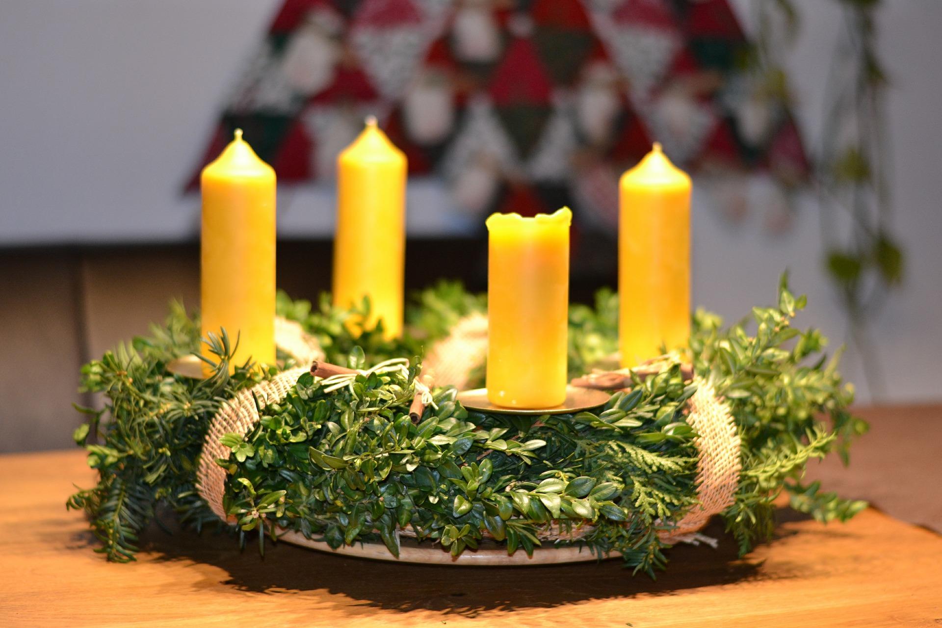 Atelier couronnes et décorations de Noël