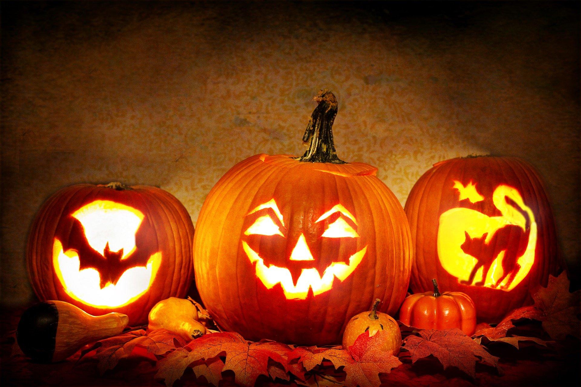 Créer des décors d'Halloween avec de fruits et des légumes